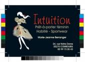 Carte de visite pour Intuition