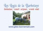 Carte de visite et Flyer pour les Logis de la Barbotaye