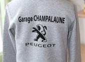 Portes ouvertes pour le garage champalaune