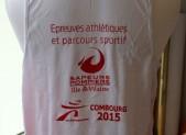 T-shirt marathon Pompiers