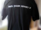 Des Tshirt pour Brico Jardin Services